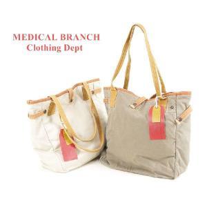 MEDICAL BRANCH Clothing Dept アンティック トートバッグ|garo1959
