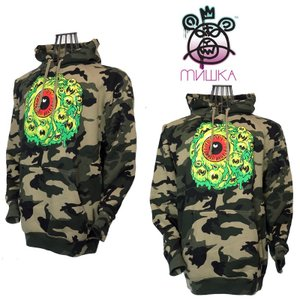 MISHKA ミシカ BOUZIKOV KEEP WATCH PULLOVER FL151163 CAMO|garo1959