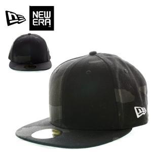 NEW ERA ニューエラ 11475052 59FIFTY CAP BLACK WOODLAND CAMO フィフティーフィッティッドキャップ ブラックウッドランドカモ|garo1959