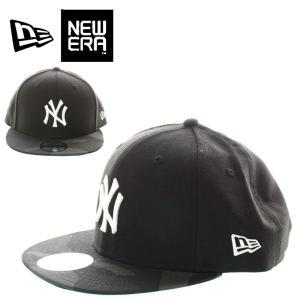 NEW ERA  ニューエラ  11474800  9 FIFTY SNAPBACK 950 NEYYAN BLK W CAMO ニューヨークヤンキース  ウッドランドカモ  CAP|garo1959
