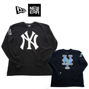 NEW ERA   ニューエラ  LS COTTON TEE  NEYYAN NEYMET SUBWAY  11474136  ロングスリーブTEE|garo1959