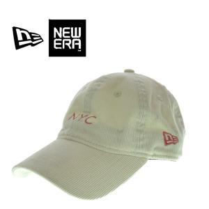 NEW ERA  ニューエラ  930 COLOR CORDUROY 08FA   11474911  コーデュロイ NYC  キャップ オフホワイト メンズ レディース|garo1959