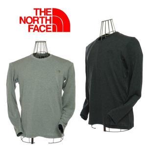 THE NORTH FACE  ザノースフェイス L/S WOOL CUTSEWN  ロングスリーブウールカットソー NT61516  ZC ミックスチャコール / Z ミックスグレー|garo1959