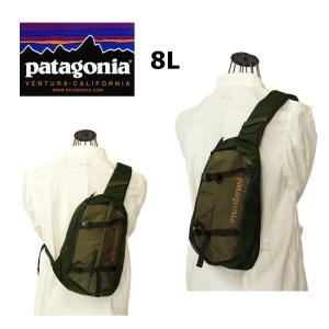 patagonia パタゴニア 48261  Atom Sling アトムスリング  Fatgue Green   ショルダーバック バックパック|garo1959