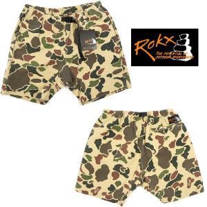 ロックス ROKX CAMOFLAGE SHORT  カモフラージュショーツ|garo1959