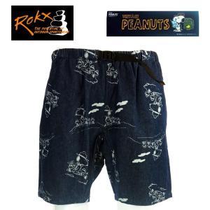 ROKX ロックス ROKX PEANUTS DENIM ロックス ピーナッツ デニム RXMS8902 DARK DENIM|garo1959