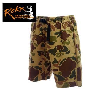 ROKX ロックス ROKX CAMOFLAGE SHORTS カモフラージュショーツ RXMS6214 GREEN|garo1959