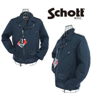 schott ショット ダブルライダースジャケット  M53109    ブラック|garo1959