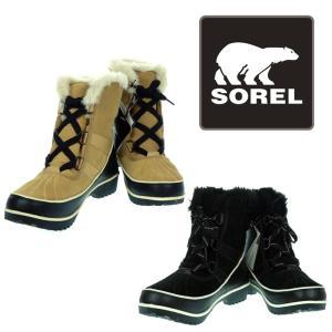 ソレル ティボリ 2 レディース スノーブーツ ウィンターブーツ NL2089-373 NL2089-010 SOREL TIVOLI II CURRY/CURRY(ベージュ)、BLACK/NOIR(ブラック)|garo1959