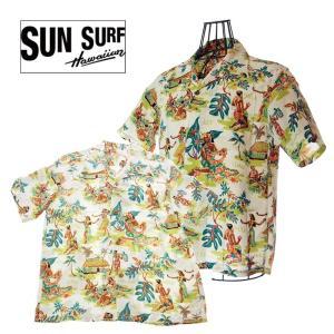 SUN SURF サンサーフ SS38025 HAWAIAN SHART LUAU ハワイアンシャツ 105OFF アロハシャツ|garo1959