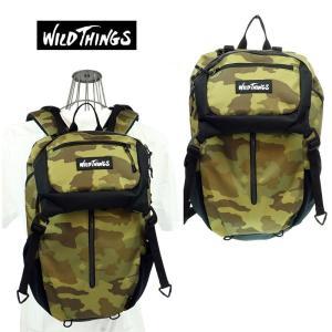 WILD THINGS ワイルドシングス   フラップリュック   WT-380-0001   50 GCAMO   2WAY|garo1959