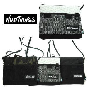 WILD THINGS  ワイルドシングス  WT-380-0072   SACOCHE CHOULDER  サコッシュショルダー   10 WHITE/15 CAMO/01BLACK|garo1959