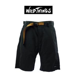 WILD THINGS  ワイルドシングス   ABILITY SHORTS   アビリティショーツ   WT17006N   BLACK|garo1959