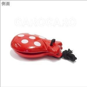 水玉のカスタネット フリーサイズ 木製 [フラメンコ用]|garogaro|07