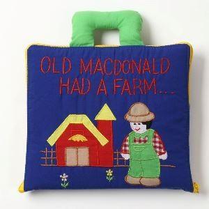 ハワイアンキルト 知育玩具 OLD MACDONALD (オールド マクドナルド) 青