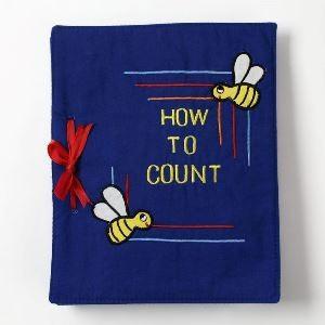 ハワイアンキルト 知育玩具 HOW TO COUNT (ハウ トゥー カウント) 青|garogaro