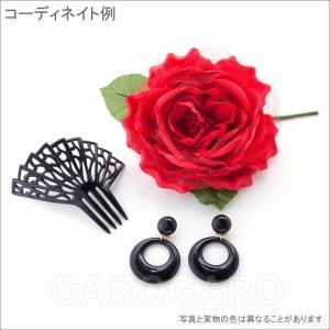 イヤリング (ピアス) 輪 (一重) プラスチック Mediano[メディアノ][4.4cm][フラメンコ用]|garogaro|03