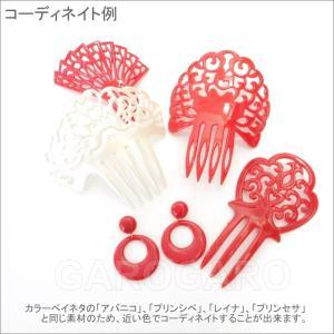イヤリング (ピアス) 輪 (一重) プラスチック Mediano[メディアノ][4.4cm][フラメンコ用]|garogaro|04