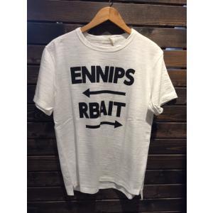 SPINNER BAIT(スピナーベイト)  ENNIPS RBAIT Tee ホワイト garretstore
