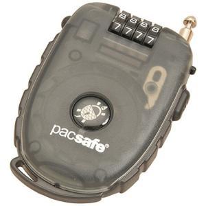 pacsafe 250 4ダイアルリトラクタブル ケーブルロック スモーク|garretstore