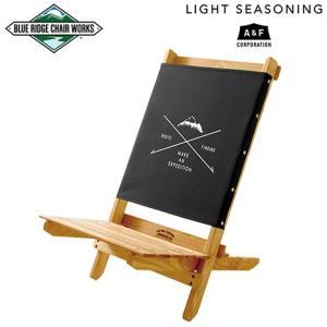 Blue Ridge Chair Works ライトシーズニング フェスティバルチェア ブラック MOUNTAIN|garretstore