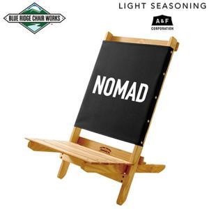 Blue Ridge Chair Works ライトシーズニング フェスティバルチェア ブラック NOMAD|garretstore