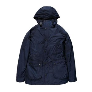 Barbour(バブアー)HOODED BEDALE SL SHAPE MEMORY ネイビー MCA0565|garretstore