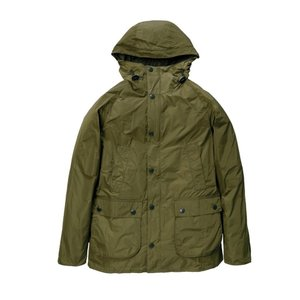 Barbour(バブアー)HOODED BEDALE SL SHAPE MEMORY セージ MCA0565|garretstore