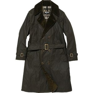 Barbour(バブアー)Wax Trench Coat MWX1014 セージ|garretstore