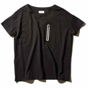 F/CE. APPAREL-LINE COOL MAX POCKET T Black|garretstore