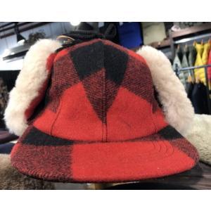 FILSON(フィルソン) Double Mackinaw Cap Red/Birch|garretstore