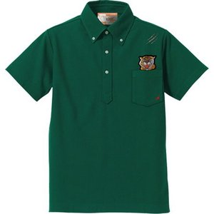 Haoming(ハオミン) TIGER WAPPEN POLO Shirt GREEN|garretstore