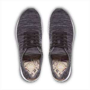 freewaters(フリーウォータース) M's Tall Boy Trainer Knit - Black/Grey|garretstore