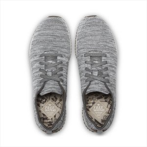 freewaters(フリーウォータース) M's Tall Boy Trainer Knit - Grey|garretstore
