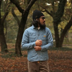 NATAL DESIGN(ネイタルデザイン) Quilted Shirts4 (FADED)|garretstore|02