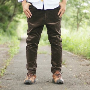NATAL DESIGN(ネイタルデザイン) S600-s Sarouel Pants Stretch Corduroy (DARK BROWN)|garretstore