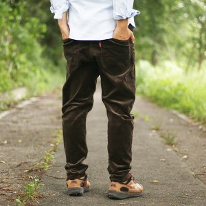 NATAL DESIGN(ネイタルデザイン) S600-s Sarouel Pants Stretch Corduroy (DARK BROWN)|garretstore|02