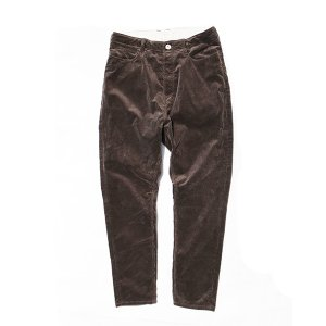 NATAL DESIGN(ネイタルデザイン) S600-s Sarouel Pants Stretch Corduroy (DARK BROWN)|garretstore|03