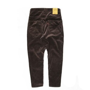 NATAL DESIGN(ネイタルデザイン) S600-s Sarouel Pants Stretch Corduroy (DARK BROWN)|garretstore|04