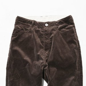 NATAL DESIGN(ネイタルデザイン) S600-s Sarouel Pants Stretch Corduroy (DARK BROWN)|garretstore|05