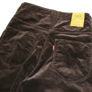 NATAL DESIGN(ネイタルデザイン) S600-s Sarouel Pants Stretch Corduroy (DARK BROWN)|garretstore|06