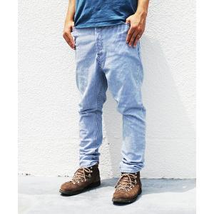 NATAL DESIGN(ネイタルデザイン) S600-s Sarouel Pants Stretch (HICKORY DAMAGE) garretstore