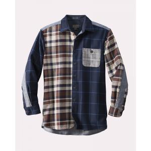 PENDLETON Wool and Denim Shirt Classic Fit 71311 Mix it up garretstore