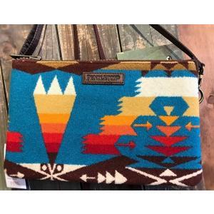 PENDLETON Large Three Pocket Keeper GF435 54452 Tucson Turquoise garretstore