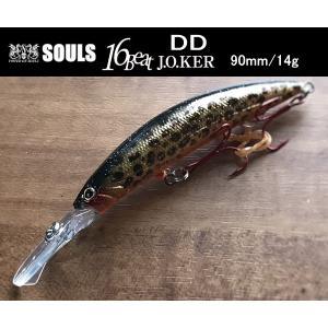 SOULS 16Beat J.O.KER DD 90mm/14g ホイルレオパード|garretstore