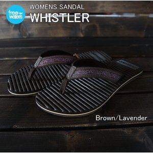 freewaters(フリーウォータース) W's WHISTLER Brown/Lavender|garretstore