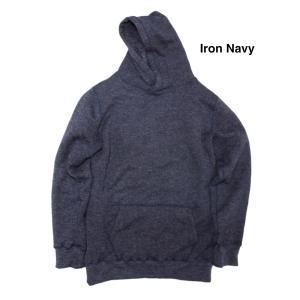 Yetina(イエティナ) pullover hoodie [Iron Navy] garretstore