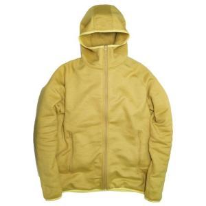 Yetina(イエティナ) Fullzip hoodie mustard garretstore
