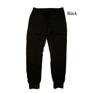 Yetina(イエティナ) sweat pants [Black] garretstore