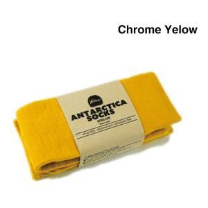 Yetina(イエティナ) Antarctica Socks [chrome yellow] garretstore